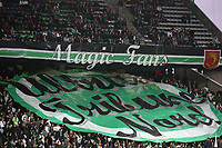 FOOTBALL - FRENCH CHAMPIONSHIP 2011/2012 - L1 - AS SAINT ETIENNE v MONTPELLIER HSC  - 6/11/2011 - PHOTO EDDY LEMAISTRE / DPPI - THE MAGIC FANS KOP
