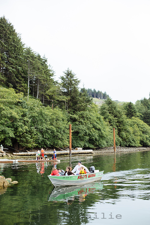 Kelly's Marina, Oregon Coast.