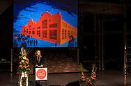 Turku-European Capital of Culture 2011 is officially opened by Suvi Innila?, Turku 2011 Foundation Programme Director. January 14th, 2011, Turku, Finland.