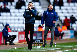Bristol Rovers manager Ben Garner and Sunderland manager Phil Parkinson - Mandatory by-line: Robbie Stephenson/JMP - 22/02/2020 - FOOTBALL - Stadium of Light - Sunderland, England - Sunderland v Bristol Rovers - Sky Bet League One