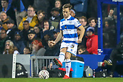 Queens Park Rangers defender Todd Kane (2) during The FA Cup match between Queens Park Rangers and Sheffield Wednesday at the Kiyan Prince Foundation Stadium, London, England on 24 January 2020.