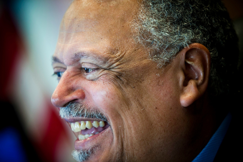 CREDIT: DOMINIC BRACCO II FOR THE WASHINGTON POST..SLUG:na/sullivan..DATE:4/9/2009..CAPTION: Judge Emmet G. Sullivan poses for a portrait at his office on April 9, 2009 in D.C. Sullivan threw out the indictment against former Sen. Ted Stevens this week.
