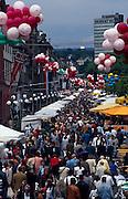 Deutschland Germany Hessen.Hessen, Wiesbaden.Wilhelmstra§e, Wilhelmstra§enfest., Wilhelm Street, street festival...