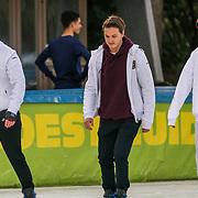 NLD/Amsterdam/20200206 - Kick-off De Hollandse 100 2020, Benjamin Aslan, Didier Froger en Nino Wilkes