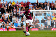 Aston Villa midfielder (on loan from Tottenham Hotspur) Josh Onomah (18) during the SkyBet Championship match between Aston Villa and Norwich City at Villa Park, Birmingham, England on 19 August 2017. Photo by Dennis Goodwin.