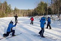 Cross country skiing at Bolduc Park and Gunstock Nordic.  Karen Bobotas for the Laconia Daily Sun