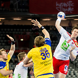 20180124: CRO, Handball - EHF Euro Croatia 2018 - Group II, Sweden vs Norway