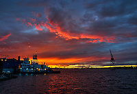 Red Hook Tug Boats Sunset