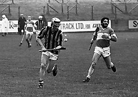 Kilkenny Vs Laois GAA Hurling, 03/04/1983 (Part of the Independent Newspapers Ireland/NLI Collection).(Photo by Independent News and Media/Getty Images).