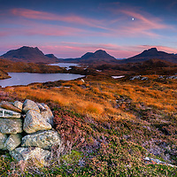Cul Mor, Cul Beag and Stac Pollaidh, highlands, scotland, inverpolly, sutherland,