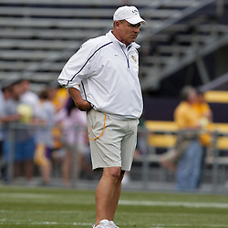 18 April 2009: LSU Tigers head coach Les Miles on the field during the 2009 LSU spring football game at Tiger Stadium in Baton Rouge, LA.