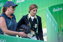 Schivo Arianna, ITA<br /> Dressage test evening<br /> Olympic Games Rio 2016<br /> © Hippo Foto - Dirk Caremans<br /> 06/08/16