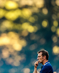 07.08.2016, Alois Latini Stadion, Zell am See, AUT, Testspiel, Schalke 04 vs ACF Fiorentina, im Bild Trainer Markus Weinzierl (FC Schalke 04) // Trainer Markus Weinzierl (FC Schalke 04) during the International Friendly Football Match between Schalke 04 and ACF Fiorentina at the Alois Latini Stadium in Zell am See, Austria on 2016/08/07. EXPA Pictures © 2016, PhotoCredit: EXPA/ JFK