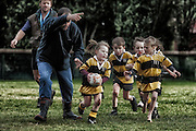 From a photo-essay on heartland rugby that was published in North &amp; South in 2011 during the 2011 World Rugby Cup.<br /> The Eastern Taranaki hill country communities of Whangamomona, Toko and Strathmore prepare and play for The Dean Cup, the World's oldest rugby tournament.