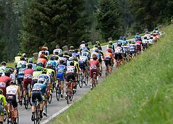 11.07.2019, Kitzbühel, AUT, Ö-Tour, Österreich Radrundfahrt, 5. Etappe, von Bruck an der Glocknerstraße nach Kitzbühel (161,9 km), im Bild das Peleton auf der Gerlos, Tirol // the peleton at the Gerlos Tyrol during 5th stage from Bruck an der Glocknerstraße to Kitzbühel (161,9 km) of the 2019 Tour of Austria. Kitzbühel, Austria on 2019/07/11. EXPA Pictures © 2019, PhotoCredit: EXPA/ Reinhard Eisenbauer