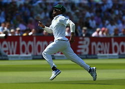 July 6, 2017 - London, England, United Kingdom - Heino Kuhn of South Africa.during 1st Investec Test Match between England and South Africa at Lord's Cricket Ground in London on July 06, 2017  (Credit Image: © Kieran Galvin/NurPhoto via ZUMA Press)