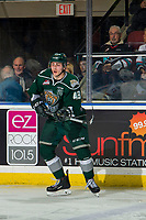 KELOWNA, BC - JANUARY 09: Connor Dewar #43 of the Everett Silvertips skates against the Kelowna Rockets  at Prospera Place on January 9, 2019 in Kelowna, Canada. (Photo by Marissa Baecker/Getty Images)