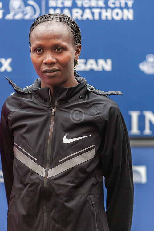 ING New York City Marathon: Priscah Jeptoo