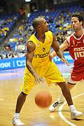 Israel, Tel Aviv, Yad Eliyahi stadium, Derrick Sharp (born October 5, 1971) is an American-Israeli professional basketball player. Currently plays for Maccabi Tel-Aviv basketball club