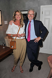 PETER & JAN SCOTT at a party to celebrate the publication of 'Garden' by Randle Siddeley held at Linley, 60 Pimlico Road, London on 24th May 2011.