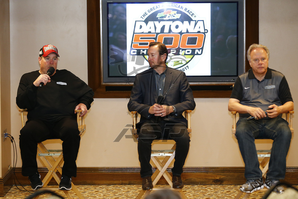 February 27, 2017 - Daytona Beach, Florida, USA: Kurt Busch (41) attends the Daytona 500 breakfast after winning the Daytona 500 at Daytona International Speedway in Daytona Beach, Florida.