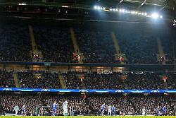 Empty seats at the Etihad Stadium - Mandatory byline: Matt McNulty/JMP - 15/03/2016 - FOOTBALL - Etihad Stadium - Manchester, England - Manchester City v Dynamo Kyiv - Champions League - Round of 16