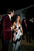 charlie Gilkes; pippa middleton, End Of Summer Ball In Berkeley Square. In aid of Prince;s Trust. Berkeley Square, London. 25 September 2008 *** Local Caption *** -DO NOT ARCHIVE-© Copyright Photograph by Dafydd Jones. 248 Clapham Rd. London SW9 0PZ. Tel 0207 820 0771. www.dafjones.com.