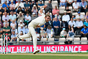 Stuart Broad of England bowling during day two of the fourth SpecSavers International Test Match 2018 match between England and India at the Ageas Bowl, Southampton, United Kingdom on 31 August 2018.