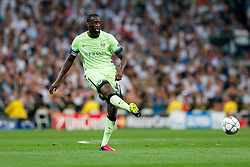 Yaya Toure of Manchester City in action - Mandatory byline: Rogan Thomson/JMP - 04/05/2016 - FOOTBALL - Santiago Bernabeu Stadium - Madrid, Spain - Real Madrid v Manchester City - UEFA Champions League Semi Finals: Second Leg.