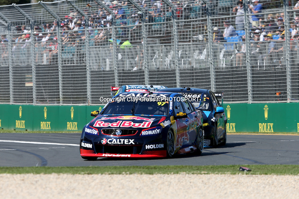 Shane Van Gisbergen (Red Bull Holden) V8 Supercar Series. 2016 Formula 1 Rolex Australian Grand Prix. Albert Park, Melbourne 17-20 March 2016. Photo: Clay Cross / photosport.nz