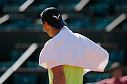 Rafael Nadal (ESP) at afternoon practice on Philippe Chatrier tennis stadium during the Roland Garros French Tennis Open 2017, preview, on May 25, 2017, at the Roland Garros Stadium in Paris, France - Photo Stephane Allaman / ProSportsImages / DPPI