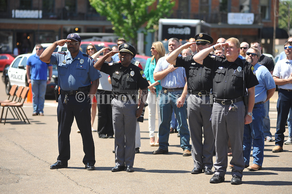 Police Officer Memorial Day in Oxford, Miss. on Wednesday, May 15, 2013.