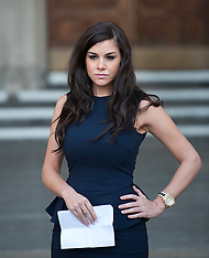 Imogen Thomas at the High Court