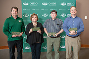 Administrative Service Awards Receipients for 25 Years of Service.