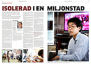 Article in Göteborgs Posten, October 12, 2014, Sweden, about New Start, an organization in Japan helping people in a acute social isolation, hikikomori.