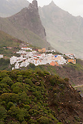 View of Almaciga, Tenerife, Spain