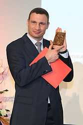 23.04.2015, Historisches Rathaus, Koeln, GER, Verleihung des Konrad-Adenauer-Preises der Stadt Koeln, im Bild Dr. Vitali Klitschko (Oberbuergermeister der Stadt Kiew)  // during Awarding of the Konrad Adenauer Prize of the City Cologne at Historisches Rathaus in Koeln, Germany on 2015/04/23. EXPA Pictures © 2015, PhotoCredit: EXPA/ Eibner-Pressefoto/ Schueler<br /> <br /> *****ATTENTION - OUT of GER*****