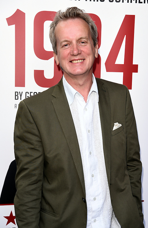Frank Skinner attends 1984 Play press night at The Playhouse, Norththumberland Avenue, London on Thursday 18 June 2015