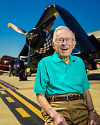 Corsair pilot Julian Scott graduated from Naval flight school in the waning days of WWII, and remained in the reserves, flying out of the Naval Air Station in Atlanta. Today it is known as Dekalb Peachtree Airport, where this image was created.