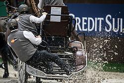 De Ronde Koos, (NED), Bonusz, Joep, Oosterwijk's Kasper, Palero <br /> FEI World Cup Driving <br /> Genève 2015<br /> © Hippo Foto - Dirk Caremans<br /> 13/12/15