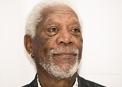 March 25, 2017 - New York, New York, U.S. - MORGAN FREEMAN promotes 'Going in Style' Morgan Freeman (born June 1, 1937) is an American actor, producer and narrator. Freeman won an Academy Award in 2005 for Best Supporting Actor with Million Dollar Baby (2004), and he has received Oscar nominations for his performances in Street Smart (1987), Driving Miss Daisy (1989), The Shawshank Redemption (1994) and Invictus (2009). He has also won a Golden Globe Award and a Screen Actors Guild Award. Freeman has appeared in many other box office hits, including Glory (1989), Robin Hood: Prince of Thieves (1991), Seven (1995), Deep Impact (1998), The Sum of All Fears (2002), Bruce Almighty (2003), The Dark Knight Trilogy (2005–2012), The Lego Movie (2014), and Lucy (2014). He rose to fame as part of the cast of the 1970s children's program The Electric Company. Morgan Freeman is ranked as the 4th highest box office star with over 4.316 billion total box office gross, an average of 74.4 million per film. The Nutcracker and the Four Realms (2018), Angel Has Fallen (2018), Villa Capri (2017), Going in Style (2017), Cold Warriors (pre-production). (Credit Image: © Armando Gallo via ZUMA Studio)