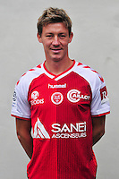 Franck Signorino - 21.10.2014 - Photo officielle Reims - Ligue 1 2014/2015<br /> Photo : Philippe Le Brech / Icon Sport