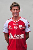 Franck Signorino - 21.10.2014 - Photo officielle Reims - Ligue 1 2014/2015<br /> Photo : Philippe Le Brech / Icon Sport