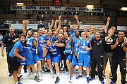 LATINA EUROBASKET 2012 ITALIA - GRECIA<br /> NELLA FOTO: TEAM NAZIONALE ESULTANZA<br /> CIAMILLO