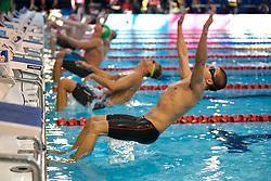 at 2015 IPC Swimming World Championships -  Men's 100m Backstroke S11