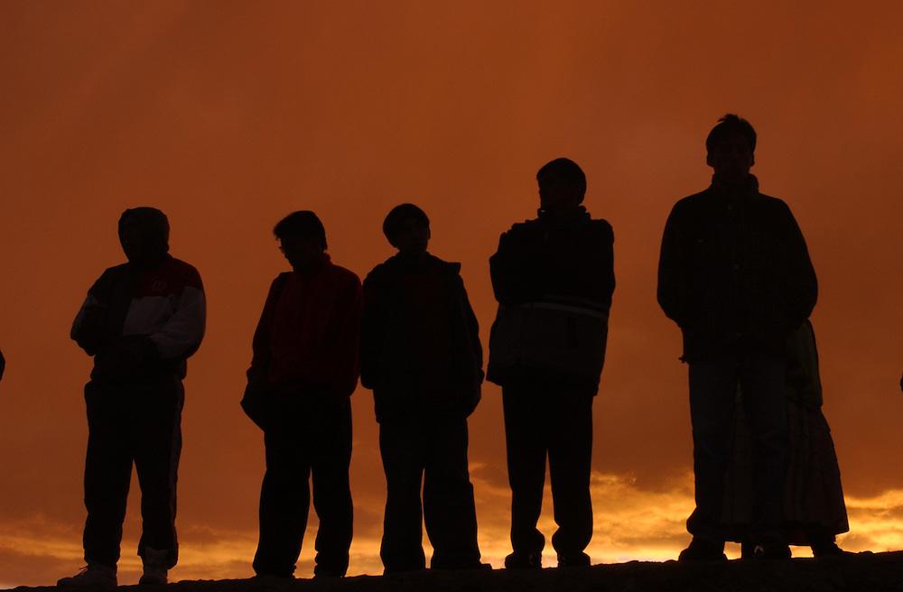 Members of El Alto, a satellite city of La Paz, celebrate the Day of the Virgin Carmen on July 16th,