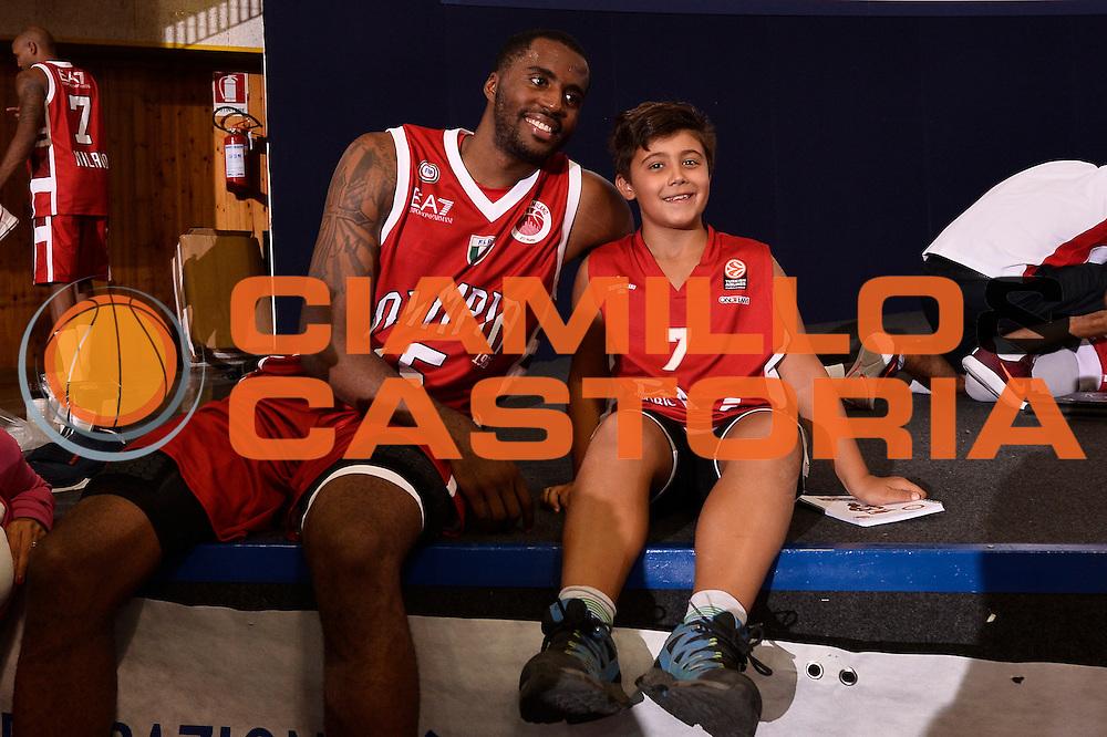 Jamel McLean <br /> EA7 Emporio Armani Olimpia Milano - Legnano Knights <br /> Lega Basket Serie A 2016/2017<br /> Bormio 28/08/2016<br /> Foto Ciamillo-Castoria