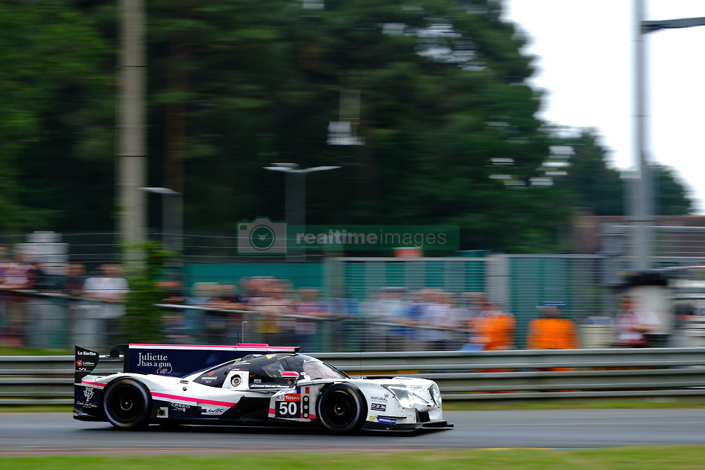 June 17, 2018 - Le Mans, Sarthe, France - Larbre Competiton LIGIER JSP217 Gibson Driver THOMAS DAGONEAU (FRA) in action during the 86th edition of the 24 hours of Le Mans 2nd round of the FIA World Endurance Championship at the Sarthe circuit at Le Mans - France (Credit Image: © Pierre Stevenin via ZUMA Wire)