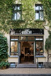 Atelier craft shop in Hackescher Markt courtyard in Berlin Germany