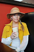 25.JUNE.2011. LIVERPOOL<br /> <br /> ACTRESS KELLY MARIE STEWART STOPS FOR A COFFEE BEFORE MAKING HER WAY TO FILM SHAMELESS IN LIVERPOOL<br /> <br /> BYLINE: EDBIMAGEARCHIVE.COM<br /> <br /> *THIS IMAGE IS STRICTLY FOR UK NEWSPAPERS AND MAGAZINES ONLY*<br /> *FOR WORLD WIDE SALES AND WEB USE PLEASE CONTACT EDBIMAGEARCHIVE - 0208 954 5968*